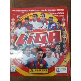 Album Figurinhas Campeonato Espanhol Temporada 14/15 Falta 1