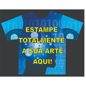 Camiseta Personalizada Estampa Total