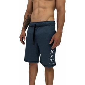 6 Bermuda Moletom Estampadas Slim Fit Calção Shorts Moleton