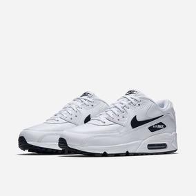 outlet store abbe0 c44ab Zapatillas Nike Air Max 90 Blanco Negro Nuevo 2018 Original