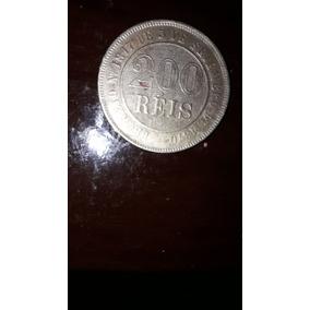 Moeda De 200 Reis 1887