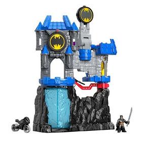 Brinquedo Imaginext Wayne Batcaverna Batman Fmx63
