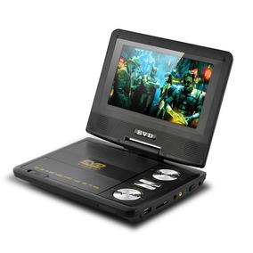 Dvd Portatil Tv 7 Tela Com Tv Digital Sd Usb Jogos
