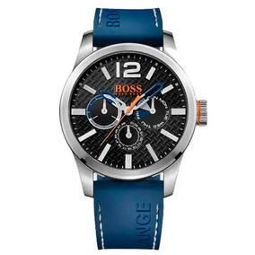 Relógio Hugo Boss Masculino Borracha Azul