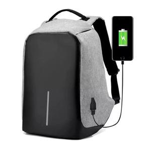 Mochila Antirrobo Backpack Impermeable Usb Porta Laptops!