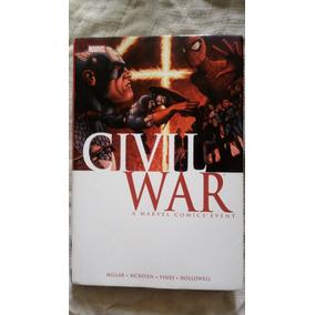 Encadernado Guerra Civil Edição Americana, Com Extras!