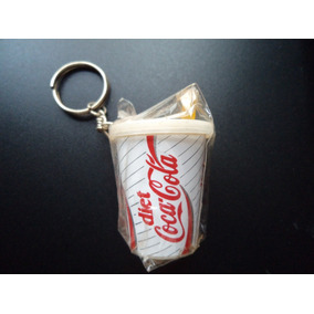 Chaveiro Antigo Da Coca-cola (versão Diet) - Formato De Copo