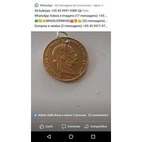 Moeda De Ouro 22k Com 3,5 G