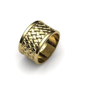 4e2076c49a6 Anel Celta De Prata 925 Banhado A Ouro 18k