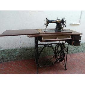 Máquina De Costura Antiga Pfaff 31 Funcionado Relíquia