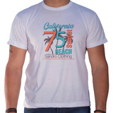 Camiseta Masculina Sandro Clothing Califórnia Beach Sunset