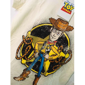 Playera Toy Story Woody Para Mujer Mascara De Látex