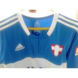 Camisa Do Palmeiras adidas 2009/2010 Azul Nº 17 Usada