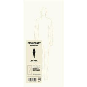 Fashionary Mens Figures Memo Pad
