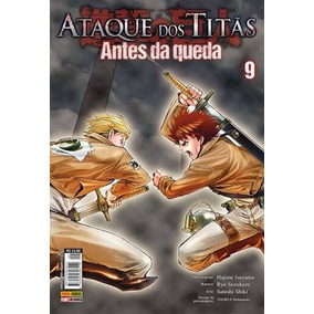 Ataque Dos Titãs - Antes Da Queda - Vol. 9