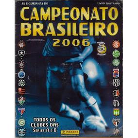 2006 Álbum Figurinhas Campeonato Brasileiro Panini Completo