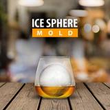 Molde Para Esferas De Hielo Individual Whisky Y Bebidas Lp