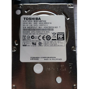 Hd Notebook Toshiba 320 Gb 2,5 Sata