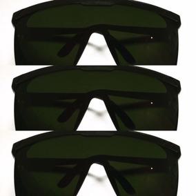 a6cdb9d5e21b6 Kit Com 3 Oculos De Proteçao Contra Raio Laser E Luz Pulsada