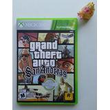 Gta Grand Theft Auto San Andreas Xbox 360 Garantizado.
