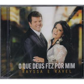 Cd + Playback Rayssa & Ravel - O Que Deus Fez Por Mim