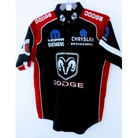 Camisa Dodge Escuderia F1 Nascar Autos Dodge Formula 1 Negra 700f70455be19