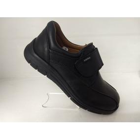 Zapato Escolar Negro Niño Contactel 21.5 A 27