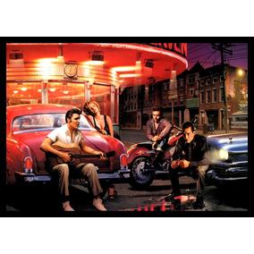 Quadro Elvis Presley James Dean Marilyn Monroe Arte 42x29