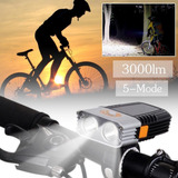 Lanterna Farol Dianteiro Bike Bicicleta Cree Led 3000lm