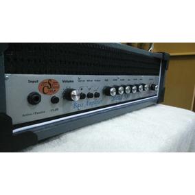 Cabeçote De Baixo 500w Potente C/ Pré-amp Baseado No Gk400rb