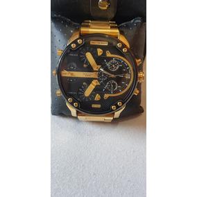 Relógio Diesel Dz7333 Dourado Usado Poucas Vezes