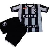 Uniforme Do Botafogo Conjunto Infantil Camisa E Short 173e18c0f7cce