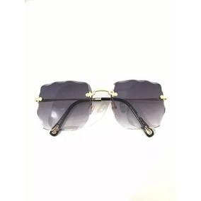 df0912979098c Óculos De Sol Sem Aro Quadrado - Óculos no Mercado Livre Brasil