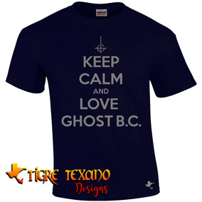 Playera Bandas Ghost B. C. Mod. 02 By Tigre Texano Designs