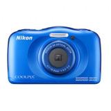Camara Nikon Coolpix W100 Azul