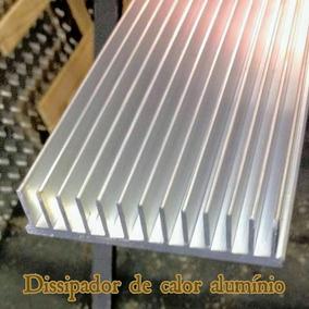 Dissipador De Calor Aluminio 6cm Comp.x10,5cm Larg.x2,5 Alt