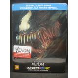 Steelbook - Blu-ray Duplo - Venom - Tom Hardy Pronta Entrega