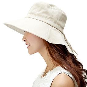Siggi Summer Flap Cover Cap Algodón Upf 50+ Sun Shade Hat W 8fccd4365e6