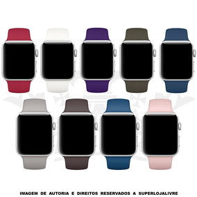 Pulseira Silicone Sport Para Apple Watch 38mm / 42mm