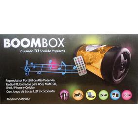 Corneta Multimedia Boombox Música Donde Sea Usb/sd/radio/in