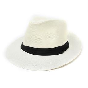 Sombrero Mujer Estilo Panama Sol Verano Playa bad2cff05d5