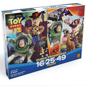 Quebra-cabeça Progressivo 16/25/49 Peças - Toy Story