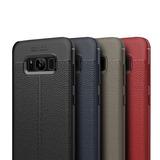 Protector Slim Tipo Piel S6 S7 Edge S8 S9 Plus Note 5 8 9