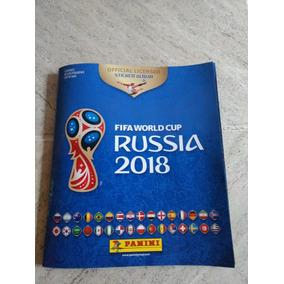 Album Copa Do Mundo Completo 2018/capa Mole/com Kit Atualiza