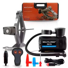Kit Macaco Elétrico 12v + Mini Compressor Ar New Beetle