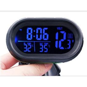 6fee40b1441 Voltimetro Termometro Relogio Digital Automotivo - Acessórios para ...