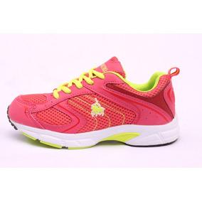 Tenis Para Correr Polo Mujer Neon Fitness Envío Gratis
