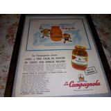 La Campagnola. Antigua Lamina De Publicidad