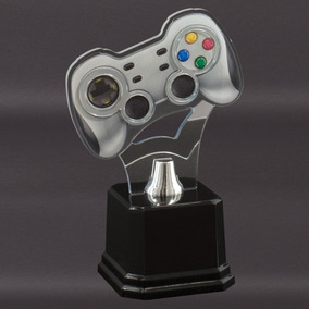 Troféu Videogame - Controle Gamer