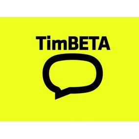 Convite Tim Beta Via Facebook - 10gb - 600min - Envio Rapido